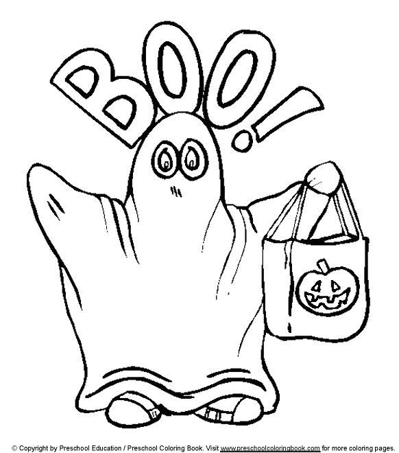 halloween prek coloring pages - photo#9